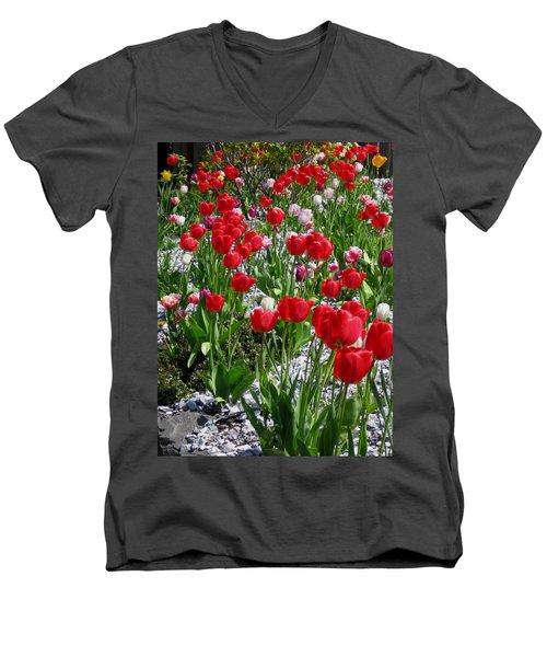 Gathering Of Joy Men's V-Neck T-Shirt