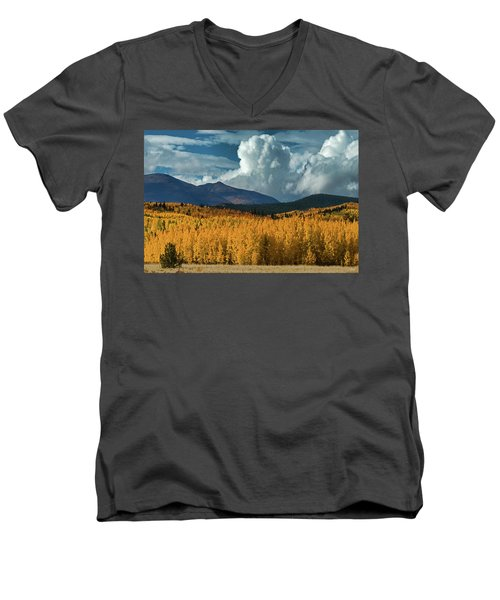 Gathering Storm - Park County Co Men's V-Neck T-Shirt