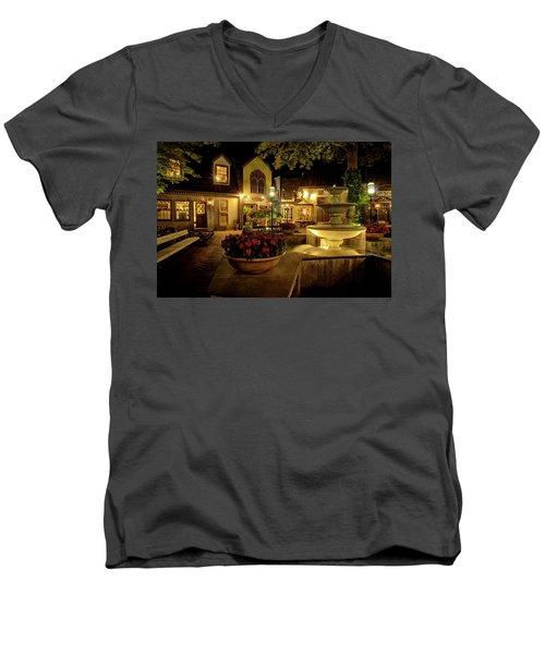 Gatlinburg 2 Men's V-Neck T-Shirt by Mike Eingle
