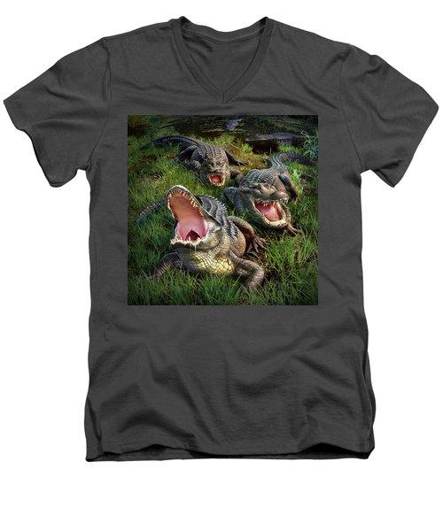 Gator Aid Men's V-Neck T-Shirt