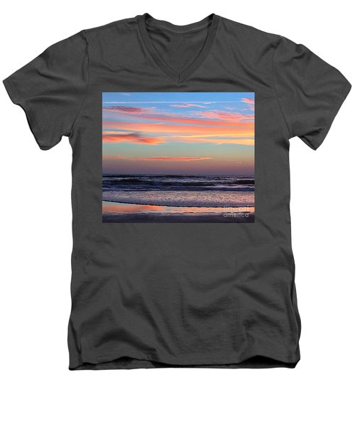 Gator Sunrise 10.31.15 Men's V-Neck T-Shirt