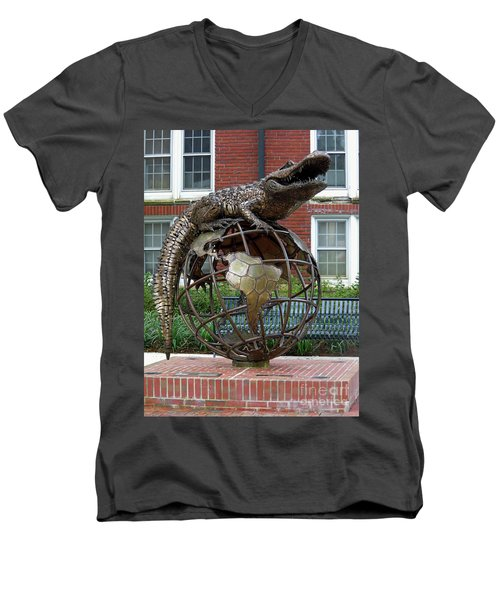 Gator Ubiquity Men's V-Neck T-Shirt