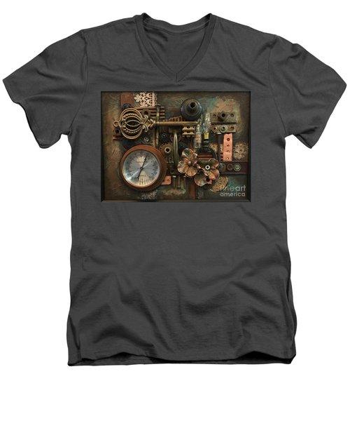 Gauge This Men's V-Neck T-Shirt
