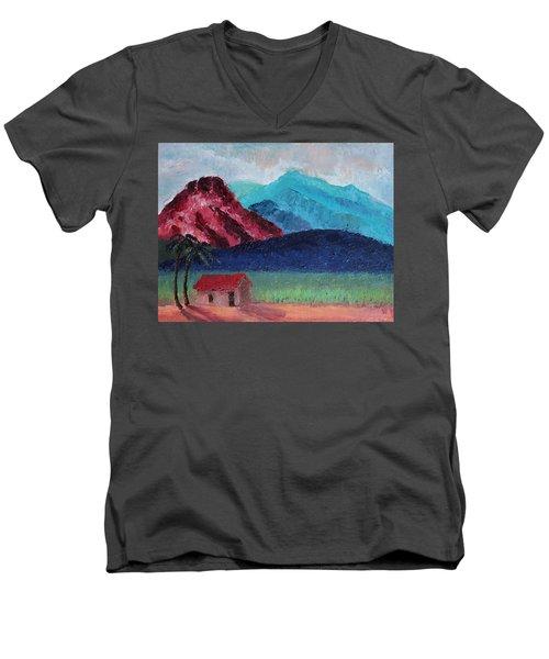 Gauguin Canigou Men's V-Neck T-Shirt