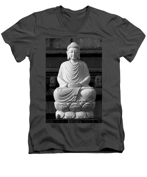 Gautam Buddha Men's V-Neck T-Shirt
