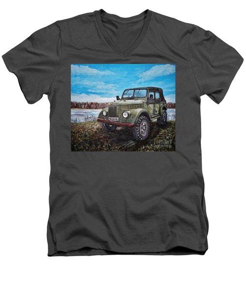 Gaz 69a Men's V-Neck T-Shirt