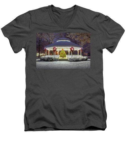 Gazebo In Beaver Pa Men's V-Neck T-Shirt