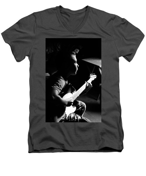 Greatness In The Making Men's V-Neck T-Shirt by Daniel Thompson