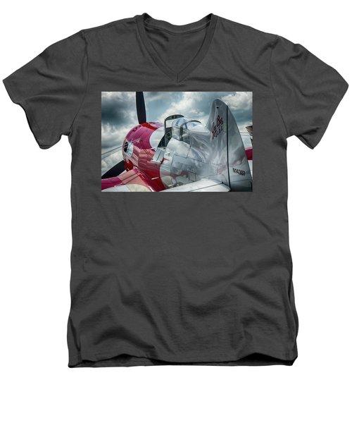 Gee Bee Men's V-Neck T-Shirt