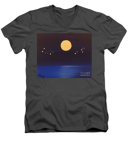 Gemini And Leo Men's V-Neck T-Shirt
