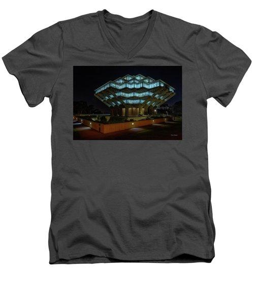 Gemstone In Concrete Men's V-Neck T-Shirt