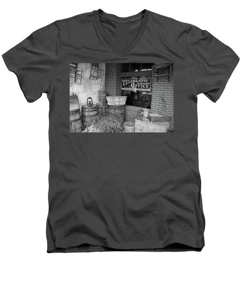 General Store Men's V-Neck T-Shirt by Inspirational Photo Creations Audrey Woods