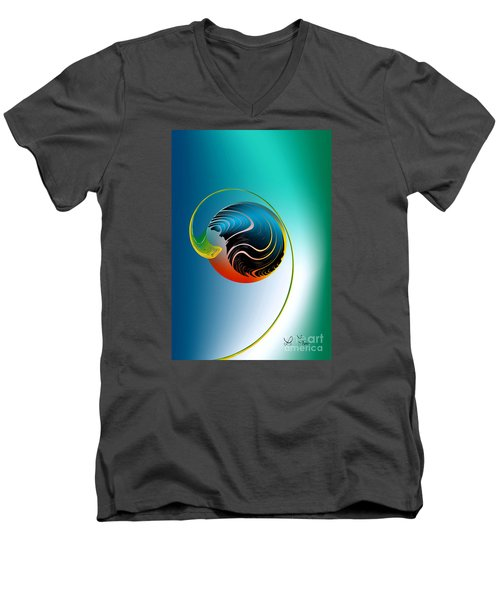 Genesis Men's V-Neck T-Shirt