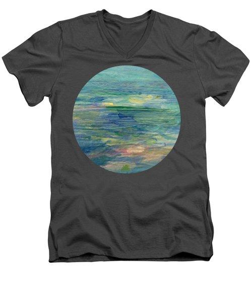Gentle Light On The Water Men's V-Neck T-Shirt