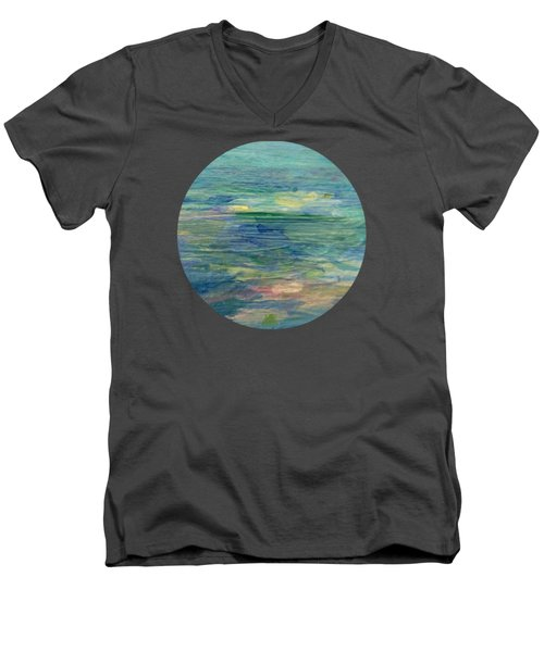 Gentle Light On The Water Men's V-Neck T-Shirt
