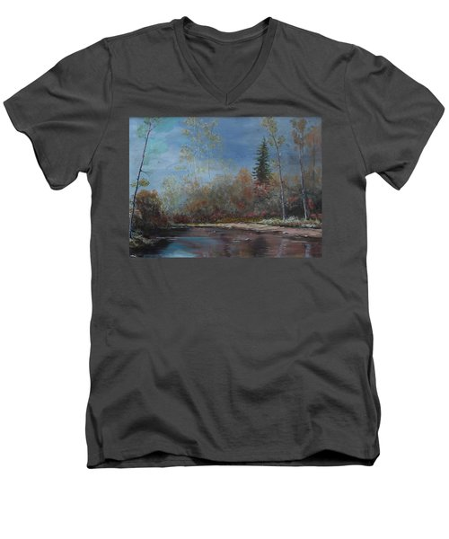 Gentle Stream - Lmj Men's V-Neck T-Shirt