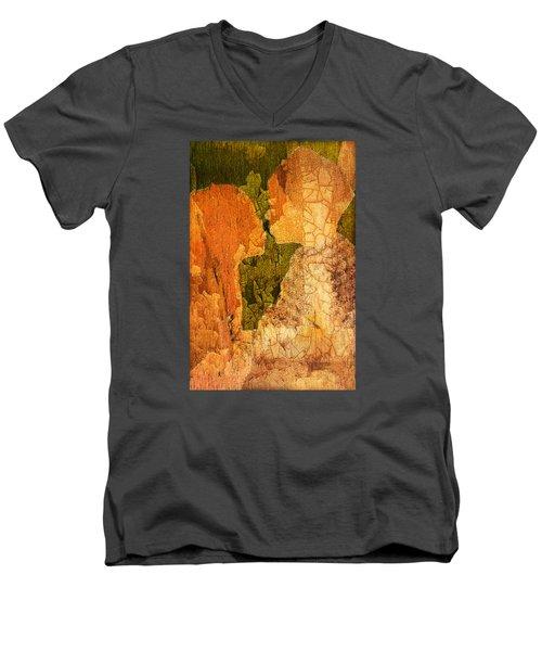 Gentle Sweet Kiss Men's V-Neck T-Shirt