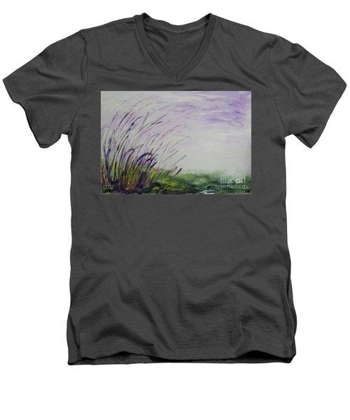 Normandy Beach, Nj Men's V-Neck T-Shirt