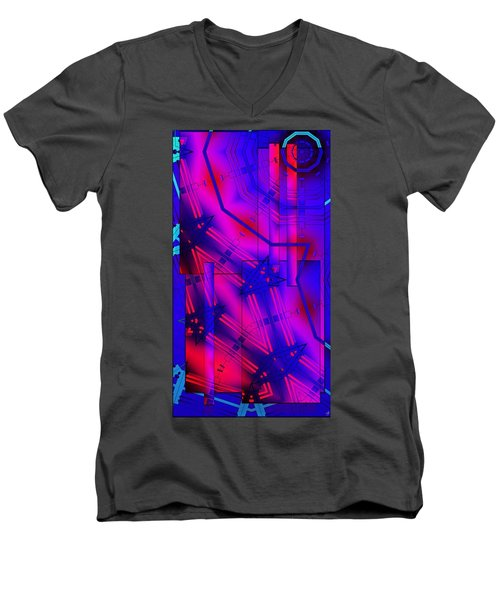 Geometric 2 Men's V-Neck T-Shirt