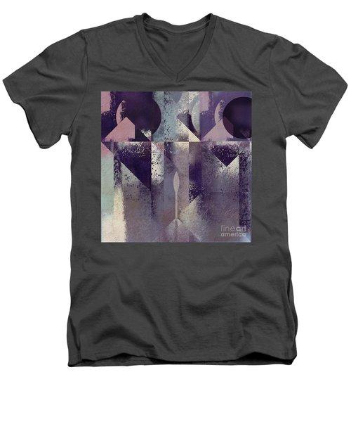 Geomix-04 - C57at22b2e Men's V-Neck T-Shirt