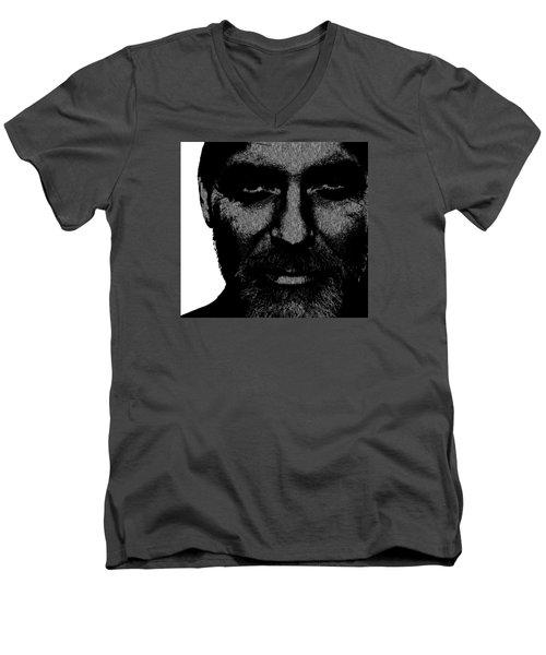 George Clooney 2 Men's V-Neck T-Shirt by Emme Pons