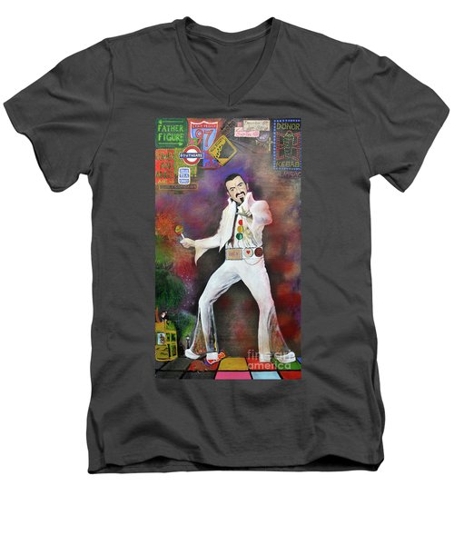 George Michael Gentlemen And Ladies Men's V-Neck T-Shirt