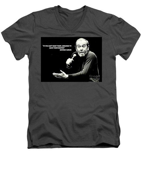 George Men's V-Neck T-Shirt