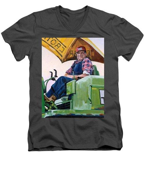 George The Artist Men's V-Neck T-Shirt