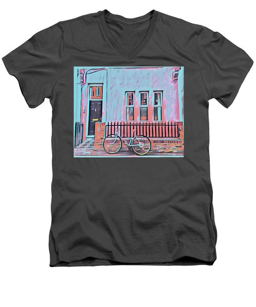 Georgetown Cycle Men's V-Neck T-Shirt