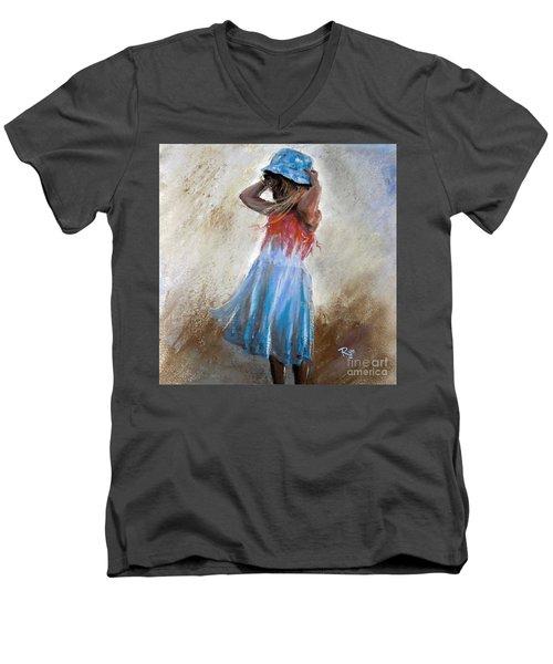 Georgia. No 2. Men's V-Neck T-Shirt