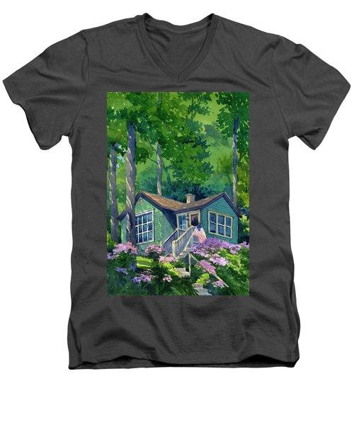 Georgia Townsend House Men's V-Neck T-Shirt