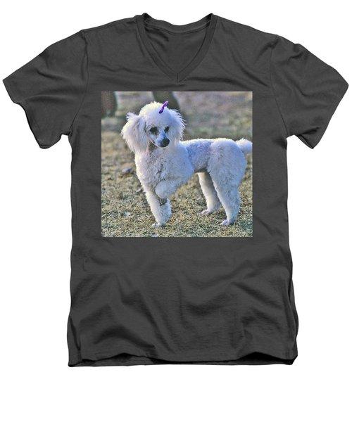 Georgie Men's V-Neck T-Shirt