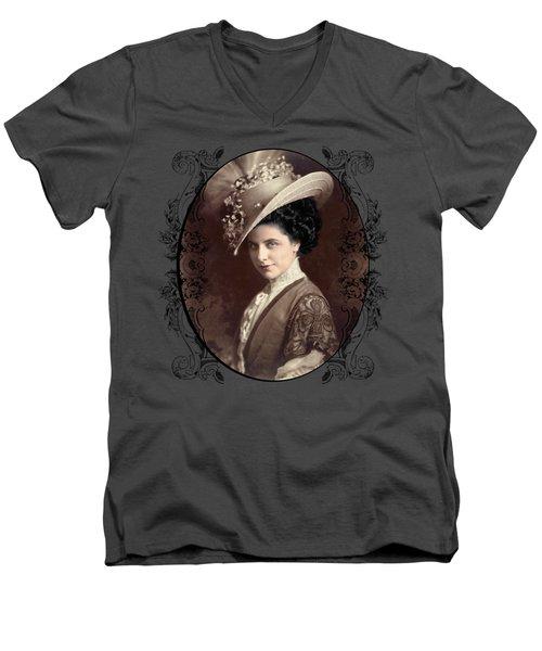 Geraldine Farrar Men's V-Neck T-Shirt