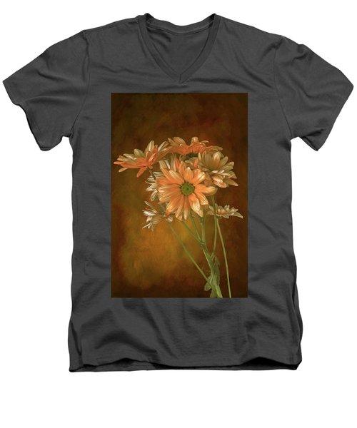 Gerbera Daisies Men's V-Neck T-Shirt