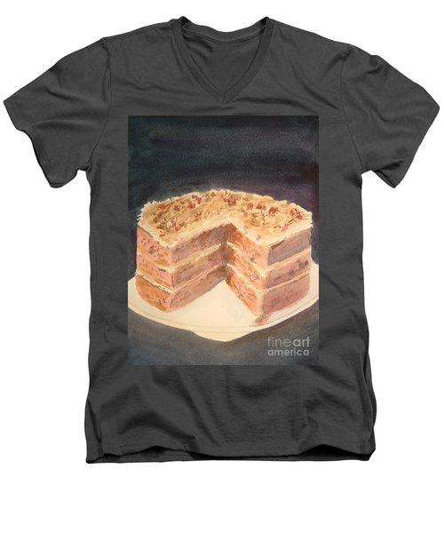 German Chocolate Cake Men's V-Neck T-Shirt