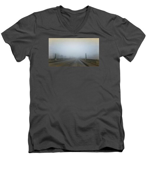 Gervais Bridge Christmas Day Men's V-Neck T-Shirt
