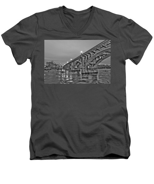 Gervais Street Bridge II Men's V-Neck T-Shirt