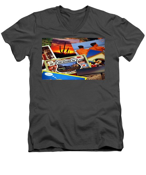 Get Your Kicks... Men's V-Neck T-Shirt