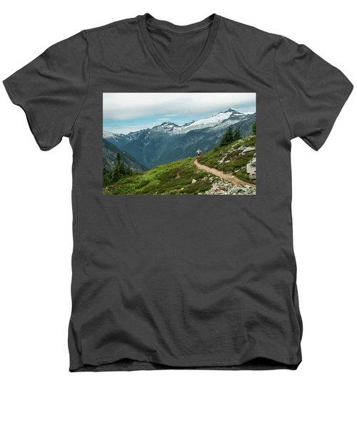 Getting Better All The Time.... Men's V-Neck T-Shirt