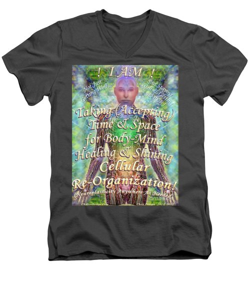 Getting Super Chart For Affirmation Visualization V3u Men's V-Neck T-Shirt