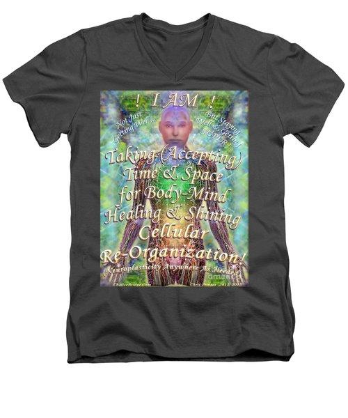 Getting Super Chart For Affirmation Visualization V3u Men's V-Neck T-Shirt