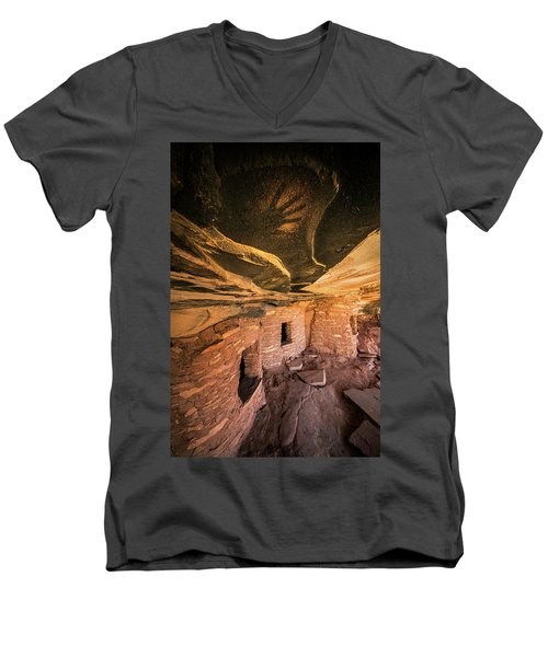 Ghost Hand Men's V-Neck T-Shirt