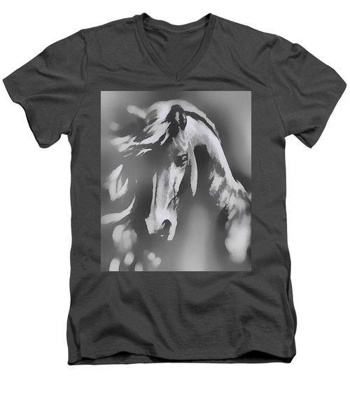 Ghost Horse Men's V-Neck T-Shirt