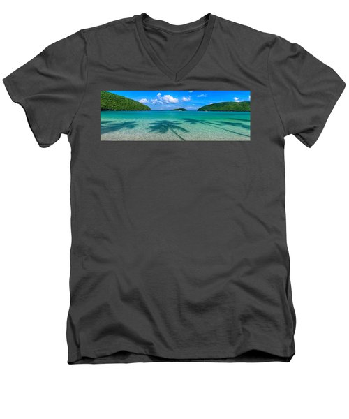 Ghost Palms Men's V-Neck T-Shirt