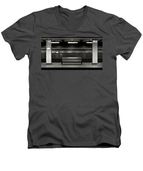 East Berlin Ghost Train Men's V-Neck T-Shirt