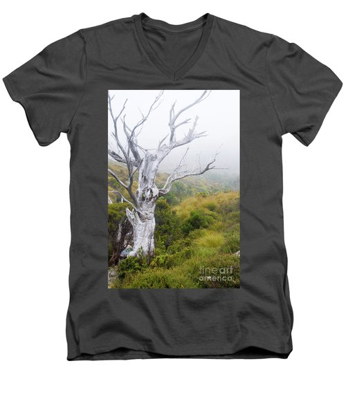 Men's V-Neck T-Shirt featuring the photograph Ghost by Werner Padarin