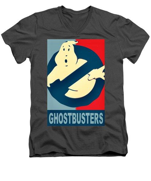 Ghostbusters Men's V-Neck T-Shirt