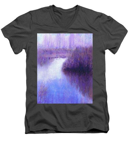 Ghostly Sentinels Men's V-Neck T-Shirt