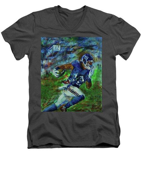 Ny Giants -  Big Blue Men's V-Neck T-Shirt