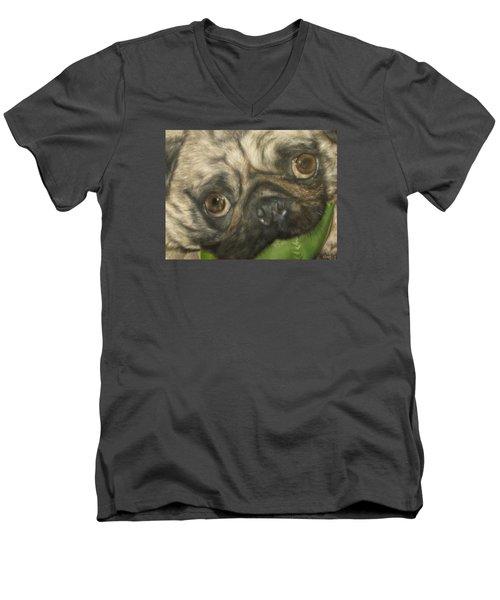 Gidget Men's V-Neck T-Shirt by Cherise Foster